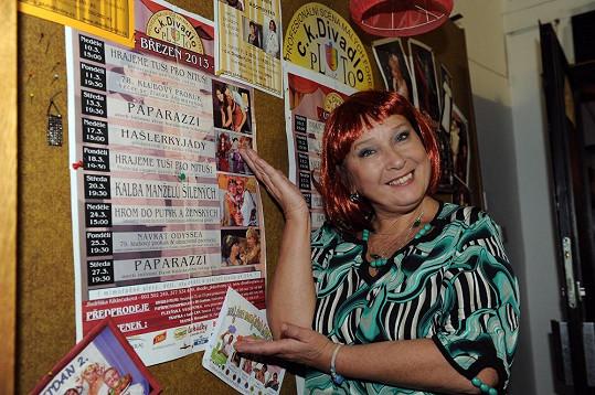 Jindřiška Kikinčuková zve všechny v březnu do Plzně.