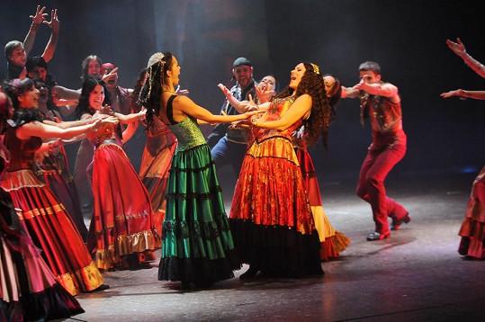 V představení se tančí flamenco.