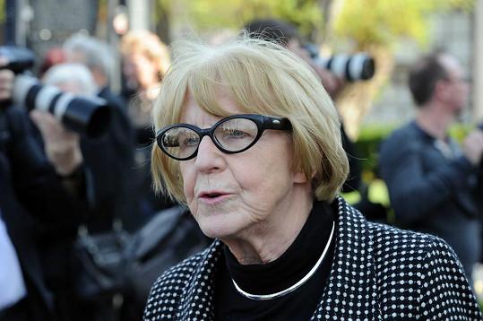 Dlouholetá tvář karlovarského filmového festivalu Eva Zaoralová