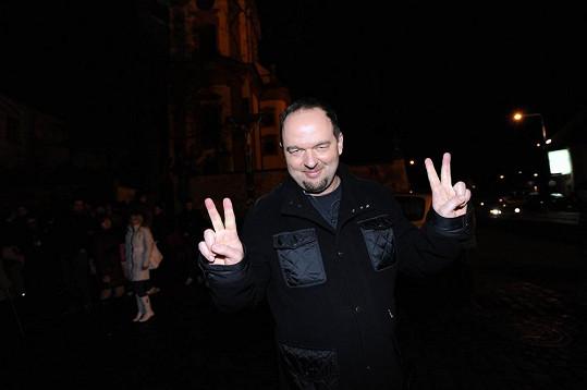 Přišel i Vladimír Kočandrle...