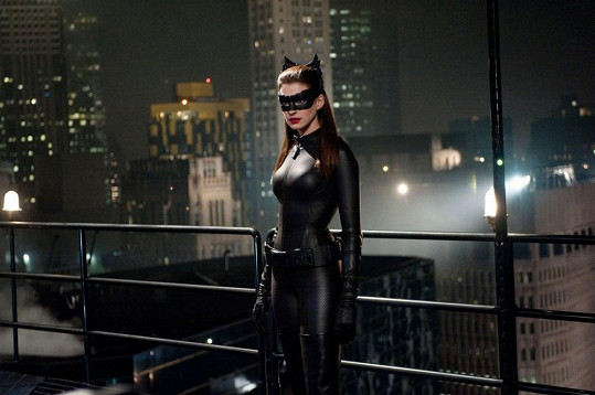 A jako sexy catwoman