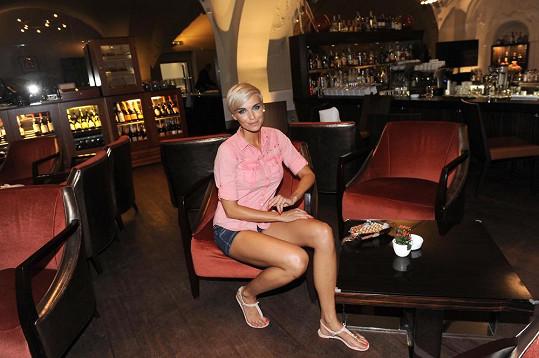 Hana Mašlíková zůstává v Praze hodně kvůli práci.