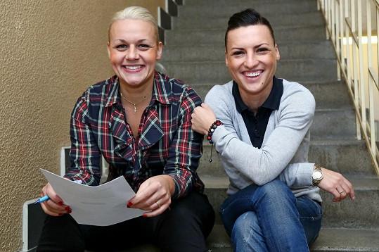 Pavlína s Mirkou na castingu do X Factoru