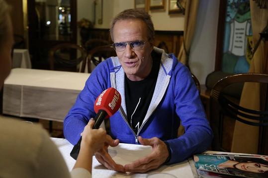 Lambert při exkluzivním rozhovoru pro Super.cz.
