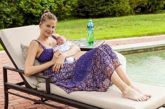 Hana Soukupová měla těžký porod, ale nakonec vše zvládla a raduje se z krásného a zdravého syna.