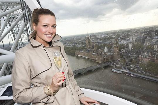 Výlet na London Eye.