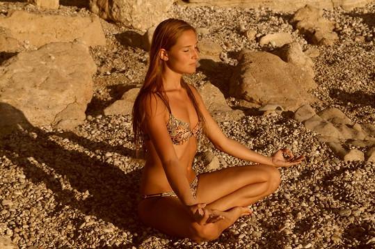 Anežka na dovolené na Korfu