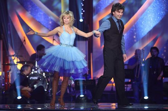 V minulé řadě soutěže Hunčárová tančila s Pavlem Řezníčkem.
