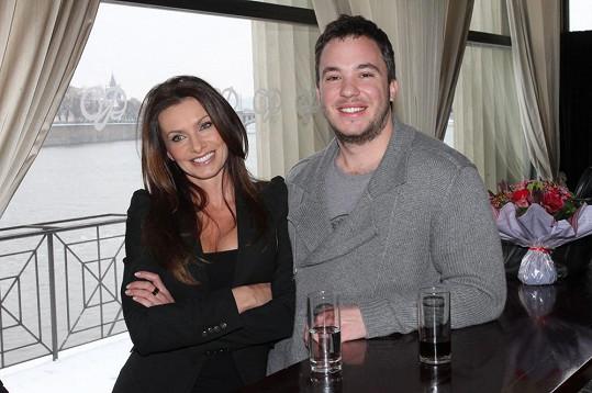 Alice Bendová s partnerem Michalem Topolem.