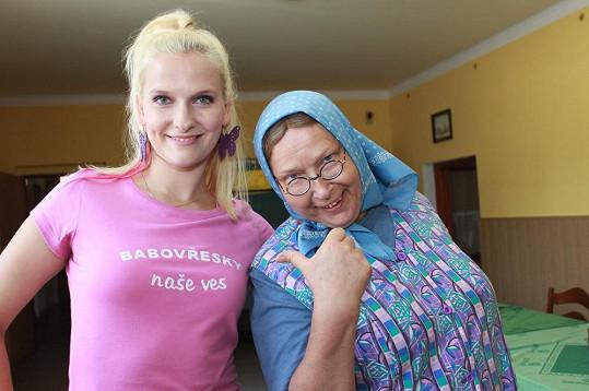 Kamila Kikinčuková s maminkou Jindřiškou
