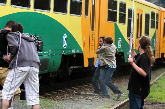 Rvačka na nádraží