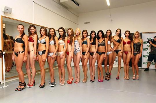 Na casting se přihlásilo čtyři sta modelek.