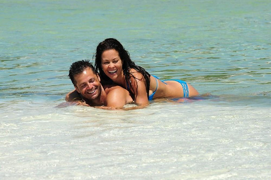 David s manželkou Brooke