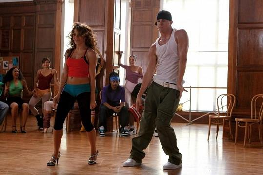 Jenna a Channing ve filmu Let´s Dance.