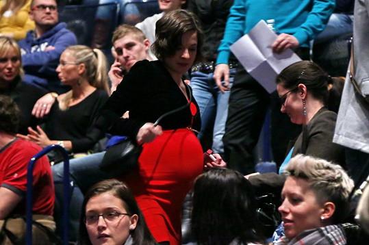 Kristýna Janáčková byla nepřehlédnutelná.