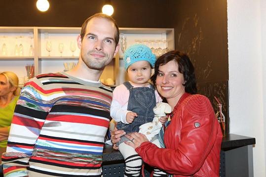 Celá rodinka vyrazila na křest projektu Mateřská.com.
