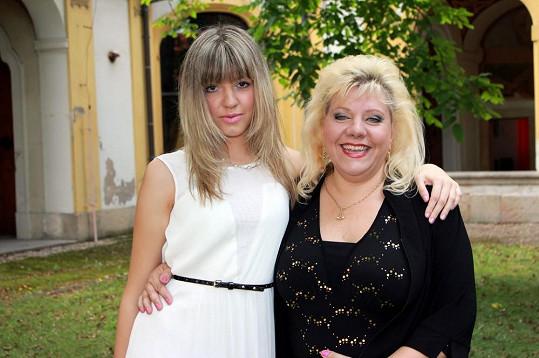 Marie s dcerou Petrou