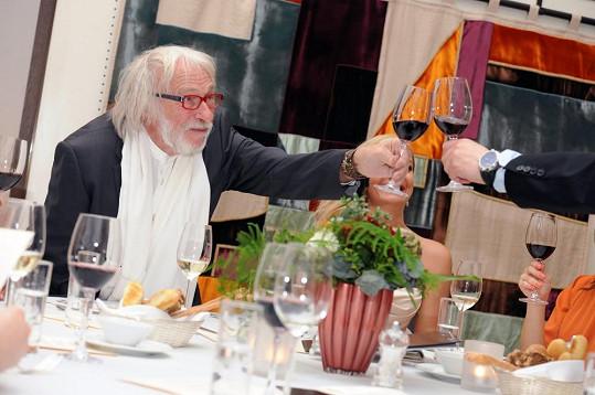 Slavný herec je velkým milovníkem vín.