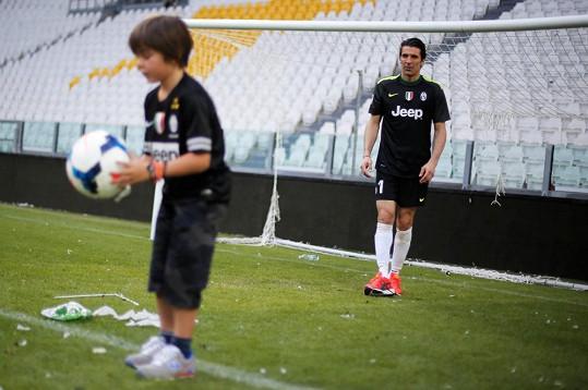 Buffon ani Šeredová nechtějí, aby děti trpěly jejich neshodami.