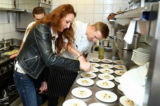 Markéta Hrubešová zkoumala taje kuchařského řemesla.