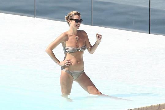 Kate Moss na dovolené v Brazílii