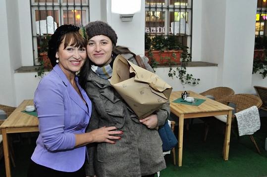 Petra s dcerou Bárou Vaculíkovou