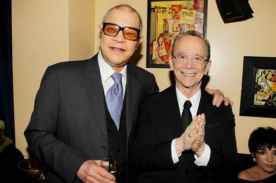 Michael s hereckým kolegou Joelem Greyem.
