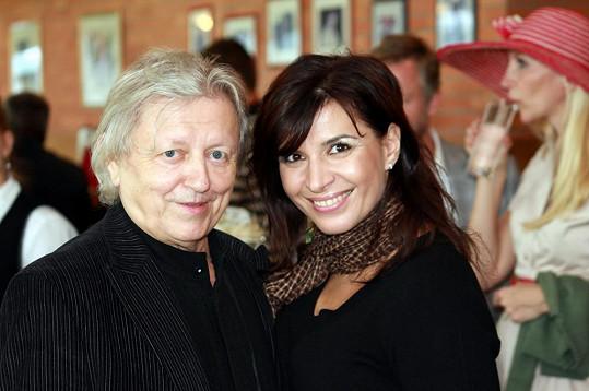Neckář s operní divou Andreou Kalivodovou
