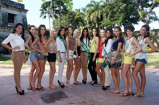 Dívky se dočkaly vřelého přijetí i na ostrově Cebu.