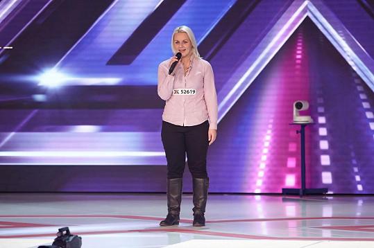 Pavlína v X Factoru neuspěla.
