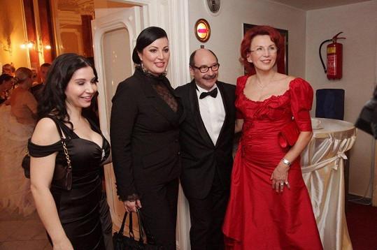 Pozvání přijal i fotograf Jadran Šetlík, nebo Miss Československa 1989 Ivana Christová, která nezvolila zrovna nejvhodnější oděv.