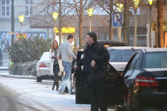 Romanin přítel připomíná ukrajinského boxera Wladimira Klitschka. Je to prý největší chlap, s kterým kdy chodila.