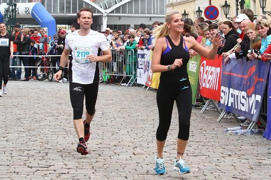 Jan Révai běžel i s Darou Rolins.
