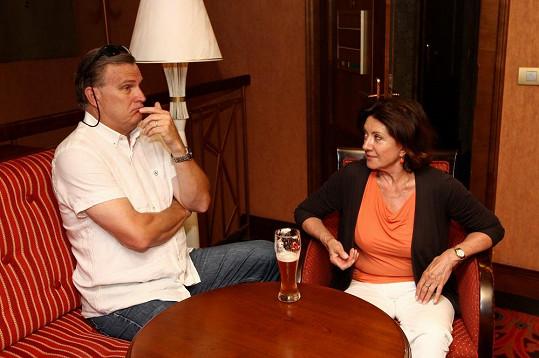 Rottrová si prý klidně objedná pivo místo polévky.