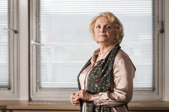 V kriminálním žánru je Rázlová jako doma. Před lety hrála v řadě detektivek.