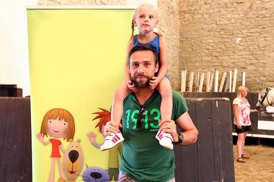 Roman Vojtek s dcerou Editou. Je tatínkovi podobná?