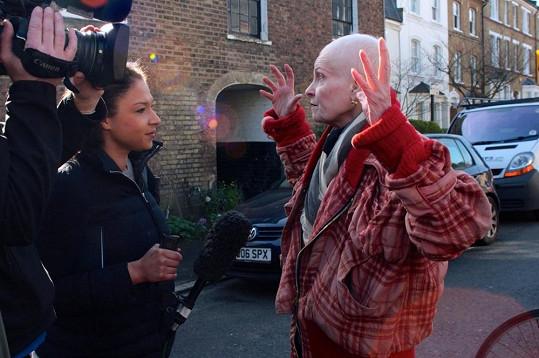 Westwood se aktivně účastnila londýnských protestů.