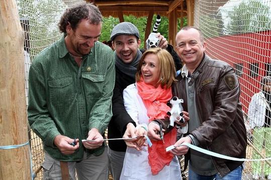 Hvězdy křtily mláďata lemurů.