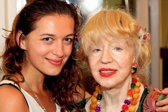 Sandra Vídeňská s věrnou kamarádkou Inkou