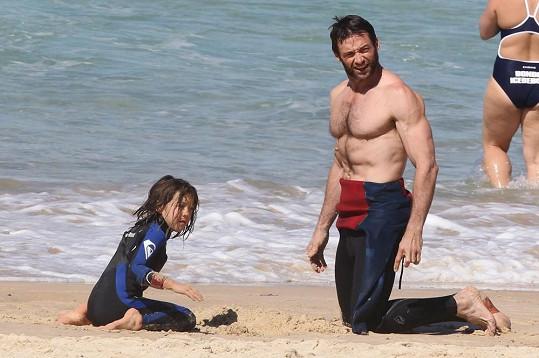 Hugh Jackman s dcerou Avou
