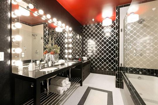 Moderní koupelna v rockerském stylu