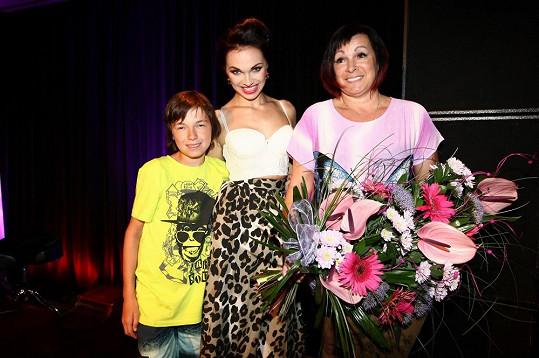 Kamila s rodinou