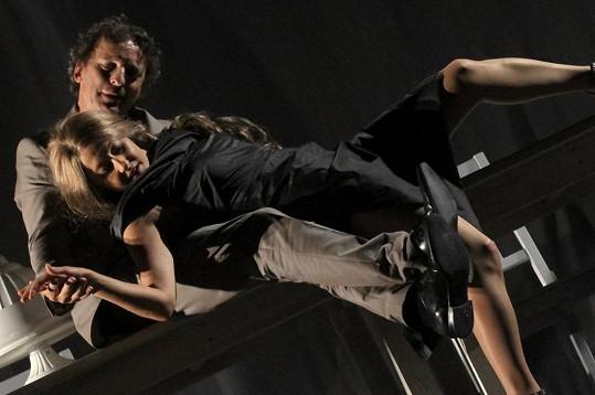 Erotická scéna s Davidem Prachařem