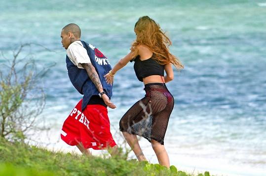 Rihanna s Chrisem Brownem.