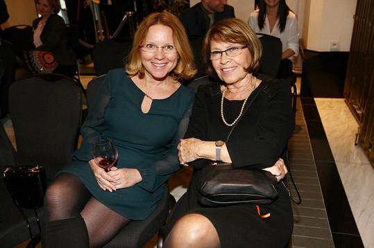 Tereza Herz Pokorná (vlevo) vypadá pořád skvěle.