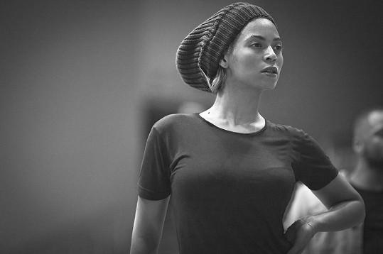 Beyoncé ve své oblíbené čepici.