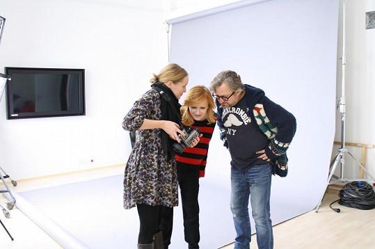 Jan Hřebejk a Aňa Geislerová se fotili pro dobrou věc.