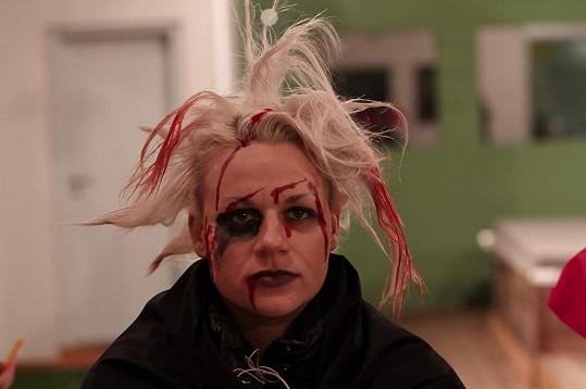 Pavlína a její halloweenská maska