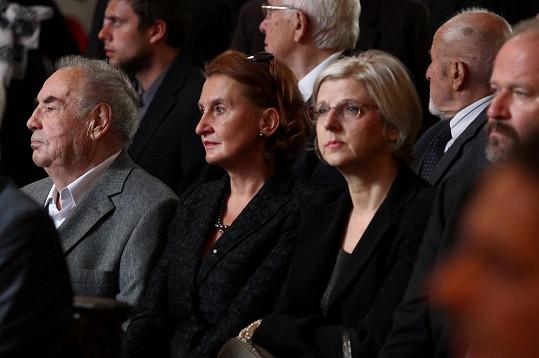 Loučila se i Eva Holubová, jež si s Krejčíkem zahrála v Pelíškách...
