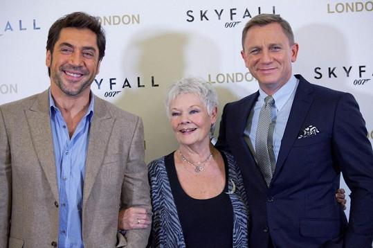 Cenu za Skyfall může získat Javier Bardem nebo Judi Dench.